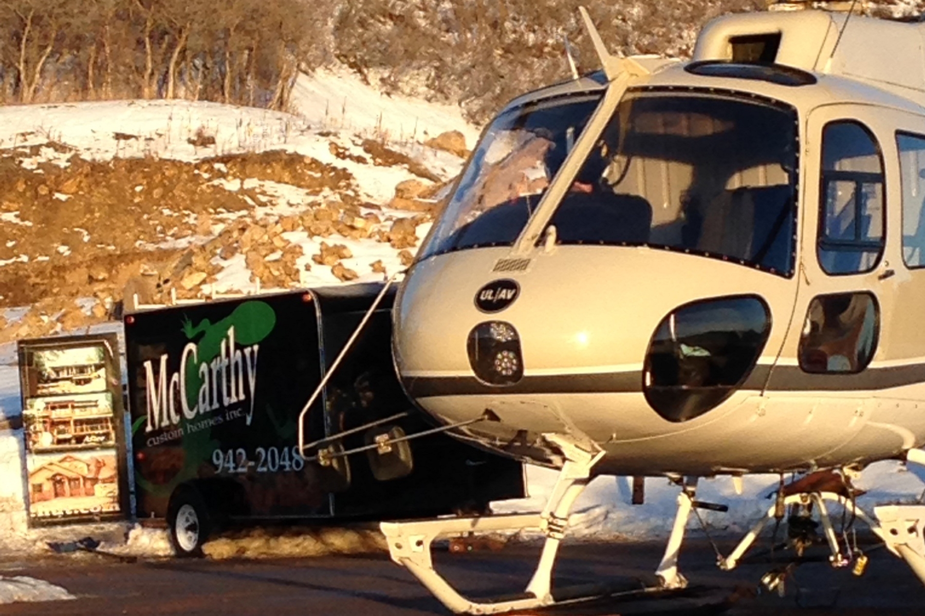Heli Day For The Funicular